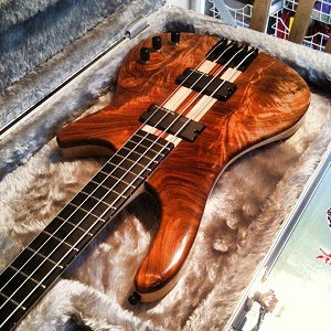Brian Jenkins Bass Guitar by Harrill Guitars.