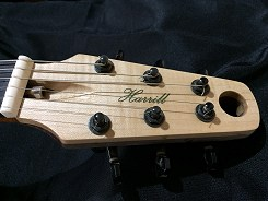 Buck Eye by Harrill Guitars.