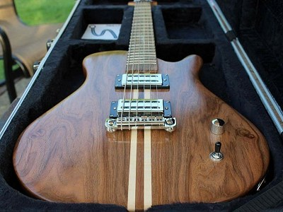 James Mullally Signature Guitar by Harrill Guitars