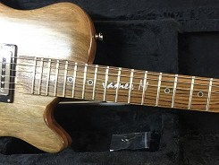 James Mullally Signature Guitar by Harrill Guitars.