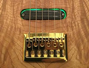 The Longhorn Lap Steel by Harrill Guitars.